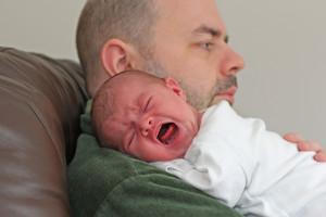 Colic Crying Newborn Baby